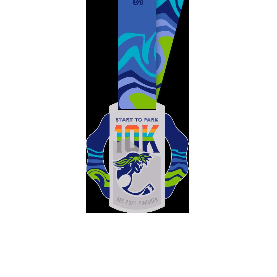 10km medal